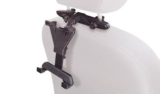 זרוע לרכב ברקן אוניברסלית טאבלט למשענת לראש 11-22 סנטימטר Barkan T30