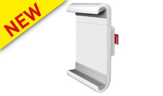זרוע קבועה צמודת קיר לטאבלט ברקן 360 מעלות לקיר צבע לבן  ''Barkan T50 12-7