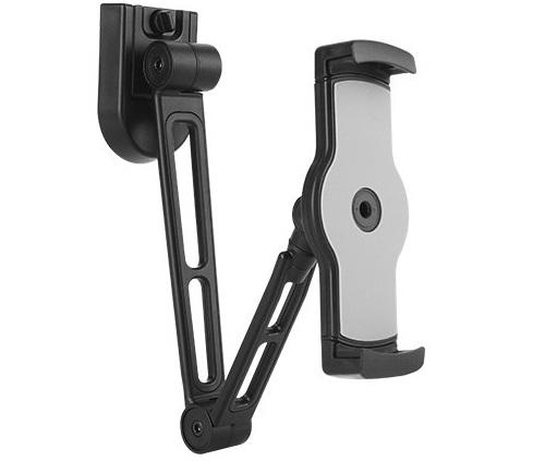 זרוע לטאבלט אוניברסלית לקיר אפשרות נעילה Lumi PAD28-02 2-in-1 Multi-Purpose Tablet Holder Up To 31Cm
