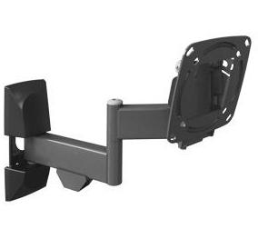 זרוע למסך מחשב ברקן לטלוויזיה 4 תנועות סיבוב בקיר, קיפול, סיבוב במסך והטייה עד 29'' Barkan E140 5-28.1Cm Up To 15Kg