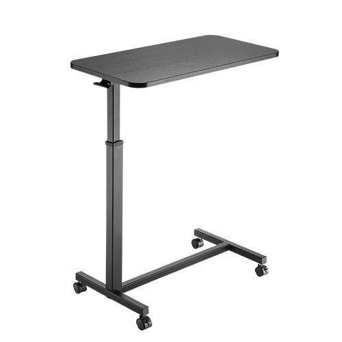 שולחן סטנד אישי למחשב נייד ישיבה עמידה עם גלגלים כולל כיוון גובה Lumi FMT01-1 Height Adjustable 71cm-110cm Overbed Table