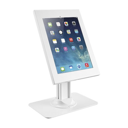 זרוע מעמד בסיס שולחני לטאבלט אייפד עם נעילה נגד גניבות Lumi PAD26-02LP ANTI-THEFT COUNTERTOP For 12.9'' iPad Pro (Gen3) KIOSK